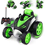 All Kinds Of Stunts: Amazing 360-degree front-wheel flip stunts, super power, this remote control car can easily complete 360-degree flip cool performances, such as flip forward, back, 90 degrees upright walking Safe And Durable: The car's body is ma...