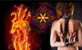 LONGYUCHEN Personalized Custom Mural Flame Beauty Suitable For 3D Background Wall Home Decoration120Cm(H)×210Cm(W)