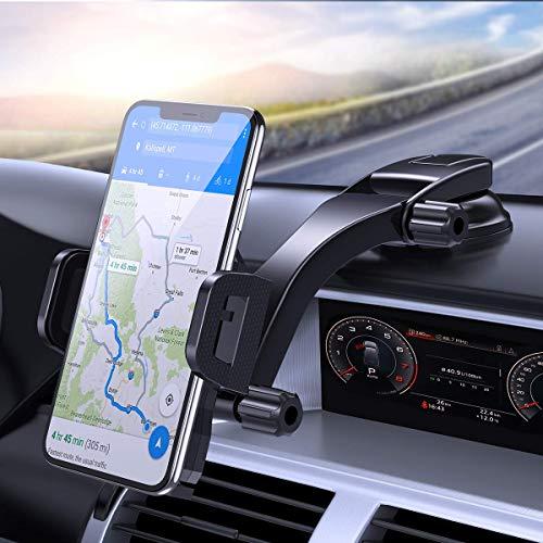 Miracase Handyhalterung Auto Handyhalter fürs Auto mit Saugnapf Universale KFZ Smartphone Halterung Amaturenbrett Handyhalter für iPhone SE 2020/11/Samsung S20/ S10/ Note10/ Huawei Xiaomi LG usw