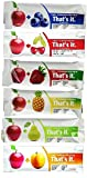 That's It Fruit Bars, 6 Flavors Variety Pack (Pack of 36)