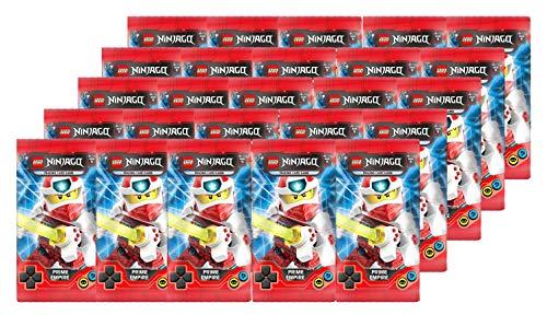 Blue Ocean Lego Ninjago - Serie 5 Trading Cards - 25 Booster ( 125 Cards ) - Deutsch