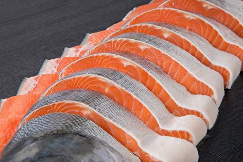 2個セット天然 時鮭切り身 2000g 24切れ サケ 焼き鮭 海鮮 北海道