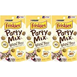 3 Bags of Friskies Party Mix Natural YUMS...