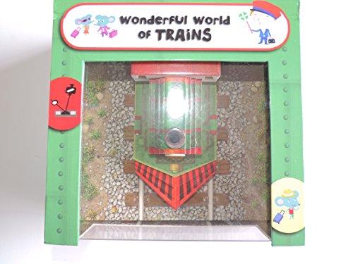 Wonderful World of Trains - Interactive Children's Book