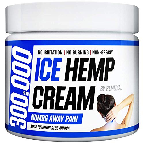 Hemp Pain Relief Cream 300 000 – Relieves Arthritis, Back and Muscle Pain – Foot, Knee, Joint, Fingers and Neck Inflammation Therapy – Hemp Oil Extract Remedy with MSM and Arnica – 2 fl. Oz