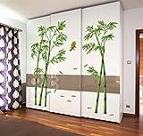 Autocollant créatif bambou amovibles chevet Salon Couloir Chambre Sticker décoratif...