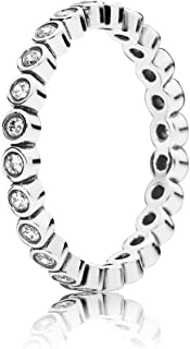 Pandora Women's Sterling Silver Zircon 925 Silver Ring