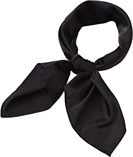 Hair Scarf Satin Head Neck Square Scarfs for Women 27