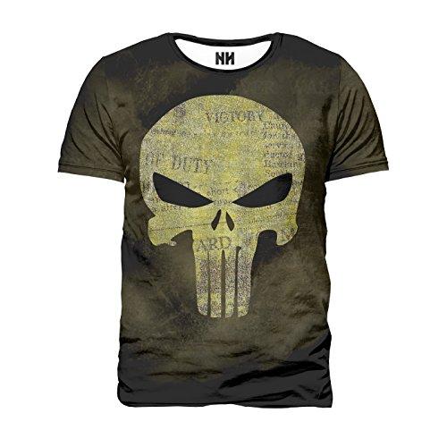 Noorhero - T-Shirt Uomo - The Punisher Logo
