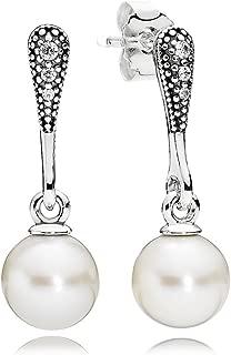 Adisaer 18k Gold Plated Dangle Earrings Daily Wear for Girls Gold Star Dangle Earrings Baguette Cut Crystal