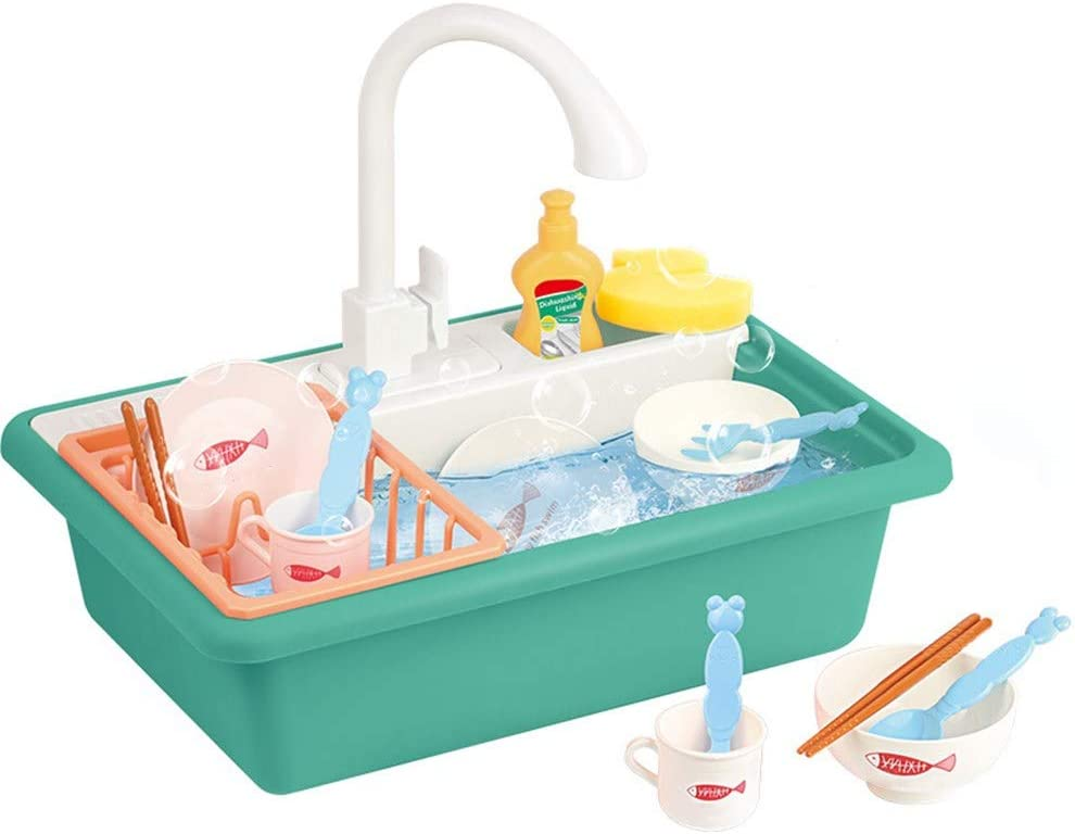In stock A1 Electric Kitchen Sink Toys Can Im Children's Set. Dishwasher Oakland Mall