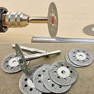 YUQIYU Mini Diamantkapskiva med plugg sågklingor diamantslipskiva för FOR Dremel Rotary Tool