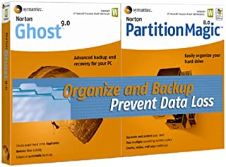 Norton Ghost 9.0 and Partition Magic 8.0 Bundle