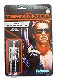 Terminator ReAction Action Figure Chrome T-800 Endoskeleton 10 cm Funko Figures