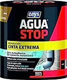 Ceys - Cinta extrema Instantanea - Agua Stop - Cinta Impermeable Autoadhesiva - 100% hermética