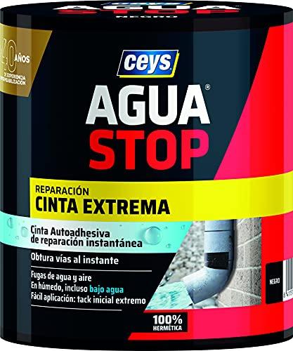 Ceys 1 Agua Stop Cinta Extrema Instantanea, Negro