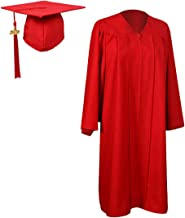 red cap and gown 2018