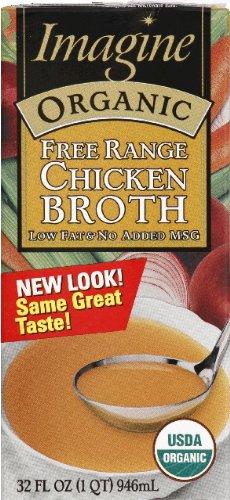 Imagine Broth Chicken Free Range Organic 32.0 OZ (Pack of 3)