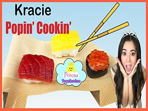 Clip: Diy Sushi Candy Kracie Poppin' with Princess ToysReview