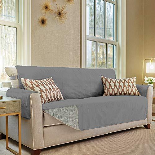 Gorilla Grip Original Slip Resistant Large Sofa Protector for Seat Width up to...