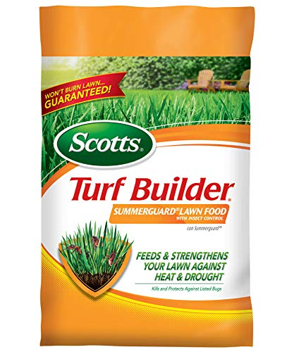 Scotts Turf Builder SummerGuard Lawn Food with Insect Control, 15,000...