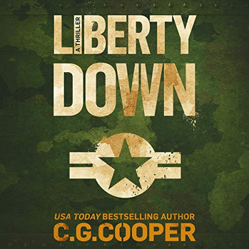 Liberty Down audiobook cover art