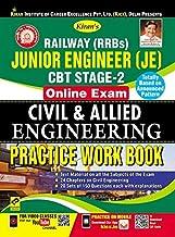 Kirans Railway (Rrbs) Junior Engineer (Je) Cbt Stage-2 Online Exam Civil & Allied Engineering Practice Work Book (2580)