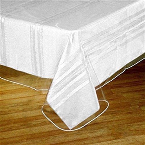Bella Kline Vinyl Clear Tablecloth Protector - 60' Round