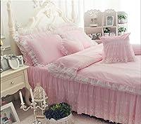 姫系 綿100%寝具カバー 掛ふとんカバー ベッドスカートシングル 枕カバー