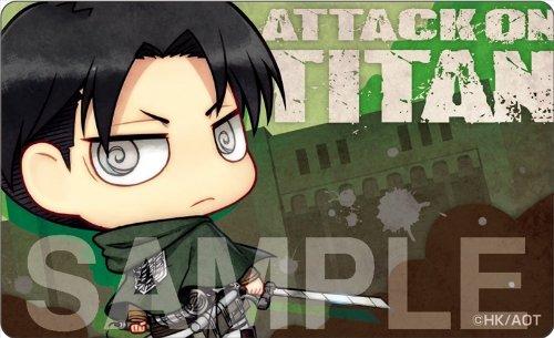 Attack on Titan - Card Decoration Jacket 4 [Levi]