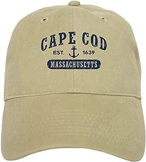 CafePress Cape Cod Est. 1639 Baseball Cap