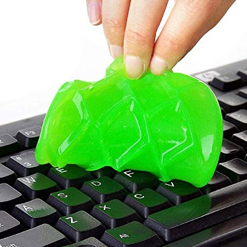 ULTRICS Keyboard Dust Cleaner, Magic Sticky Gel Putty Soft Flexible Cleaning Kit for PC...