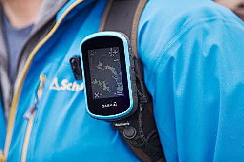 Garmin - eTrex Touch 25 - GPS de Randonnée avec écran tactile - Cartes TopoActive Europe de l'Ouest Préchargées - Bleu