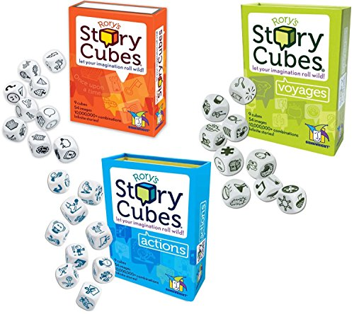 Rory's Story Cube Complete Set - Original - Actions -...