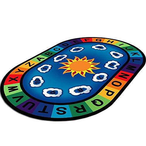 HSRG Rug Playmat Bébé Tapis De Jeu Jouets pour Tapis De Tapis pour Enfants Enfants en Développement Mat Tapis Jouer Tapis Salon Chambre Indoormat,140×230Cm