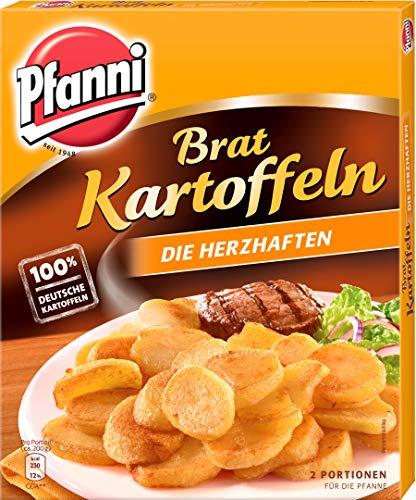 Pfanni Bratkartoffeln für eine schnelle Zubereitung Die Herzhaften 100% deutsche Kartoffeln 400 g 2 Portionen