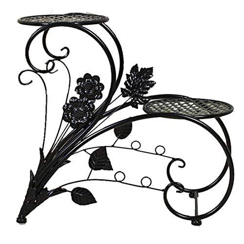 Dittzz Soporte para Plantas, 2 Niveles Escalera para Flores