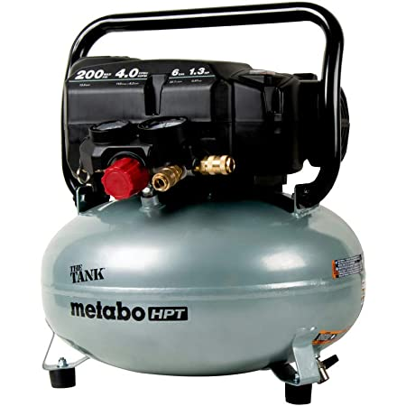 "Metabo HPT ""THE TANK"" Pancake Air Compressor, 200 PSI, 6 Gallon (EC914S)"
