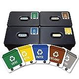 Haberdashery Online 5 Etiquetes Adhesives per al Reciclatge...