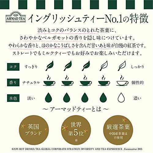 米産 アーマッド イングリッシュティー NO.1 ティーバッグ 箱2g×100