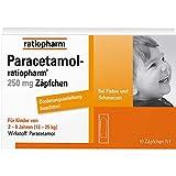 Paracetamol Ratio 250 Supp.