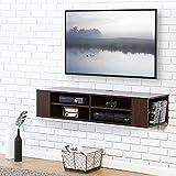 FITUEYES Meuble Télé avec Support pour Téléviseur de 47 à 60 pouce Ecran LED avec Rangement pour DVD CD AV Equipement DS212001WB