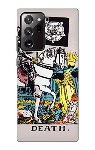 Innovedesire Tarot Card Death Funda Carcasa Case para Samsung Galaxy Note 20 Ultra, Ultra 5G