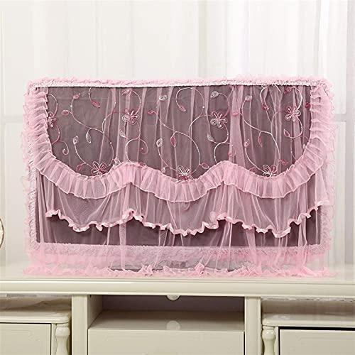 Textiles para el hogar Exquisita cubierta antipolvo para TV Película protectora para pantalla de TV 32-70 pulgadas Cubierta antipolvo para TV colgante Cubierta para TV montada en la pared Cubierta par