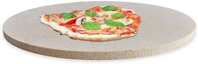 Pur Cordierit - Piedra para Pizza (Redonda, 290 x 12 mm): Amazon ...