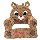 Animal Adventure Rudolph The Red-Nosed Reindeer Soft Foam Character Chair - Rudolph