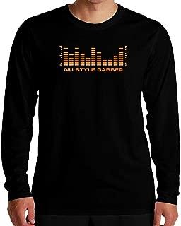 Idakoos Nu Style Gabber Level Equalizer Long Sleeve T-Shirt