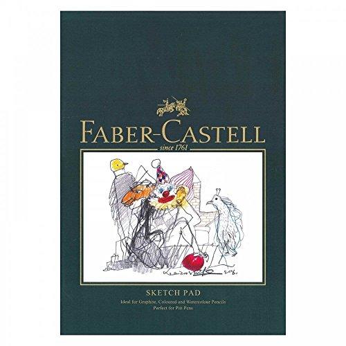 Faber-Castell Art & Graphic Skizzenblock, A5 160 g / m² Block mit 40 Blatt
