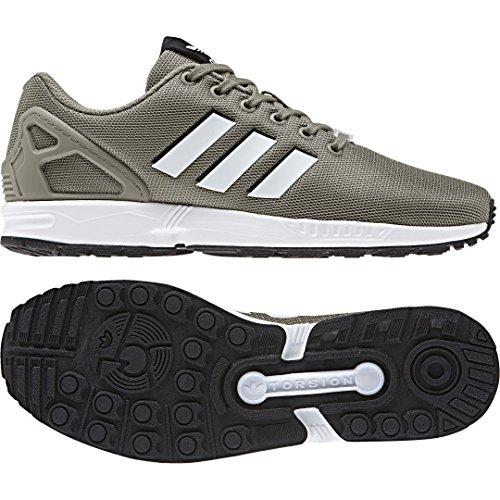 adidas ZX Flux, Zapatillas de Gimnasia para Hombre, Gris (Trace Cargo S17/ftwr White/Core Black), 49 1/3 EU
