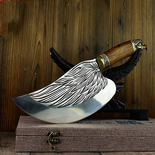 Cuchillo Corte forjado a mano y corte de doble propósito cuchillos cuchillos afilados cuchillos cortadoras de cocina Choppers de cocina cocina (Color : Chopper)